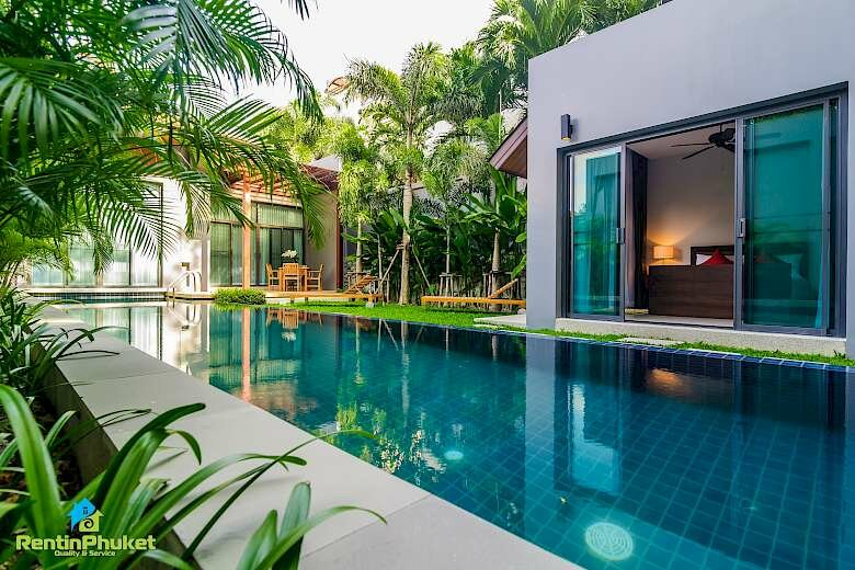 Three bedroom villa in Naiharn