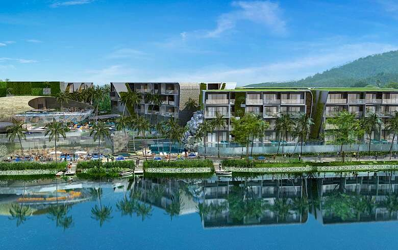 Sale of apartments in Coco Sea Naiharn condominium | Phuket